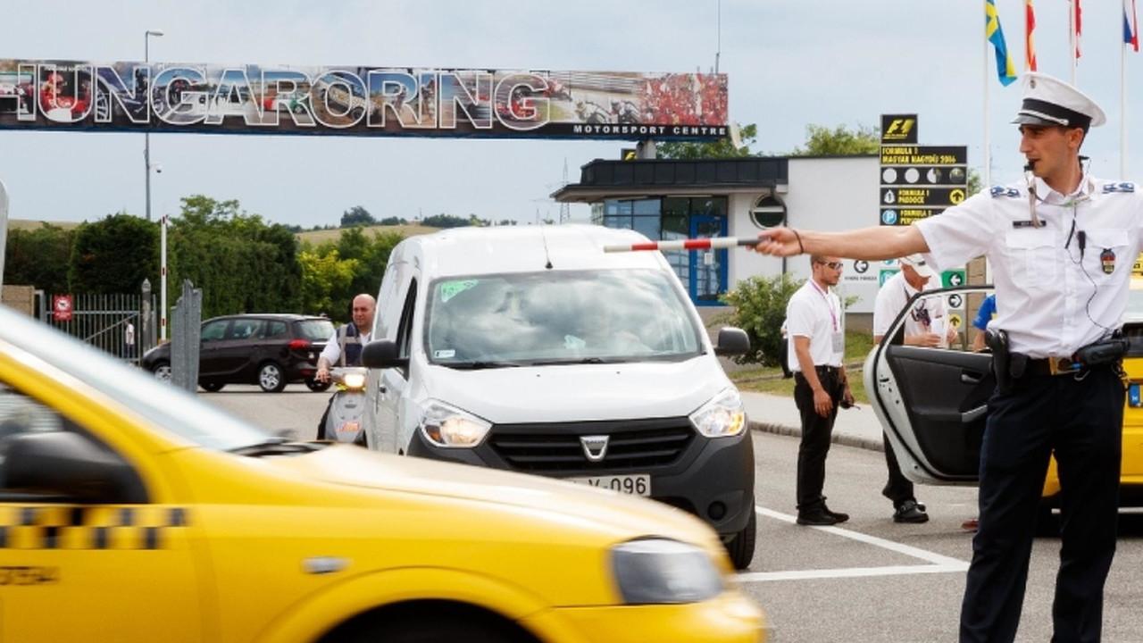 Rendőri biztosítás - Hungaroring