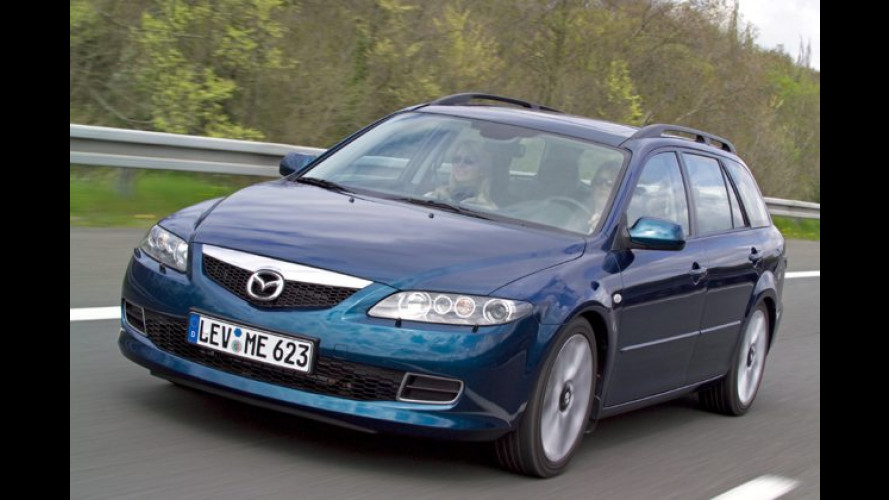 Mazda 6 Sport Kombi: Mit starkem Diesel wahrhaft sportlich