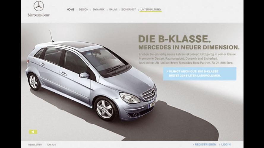 Neue B-Klasse: Mercedes wirbt mit Internet-Entertainment