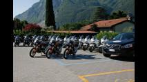 Volvo insieme a Moto Guzzi verso Capo Nord