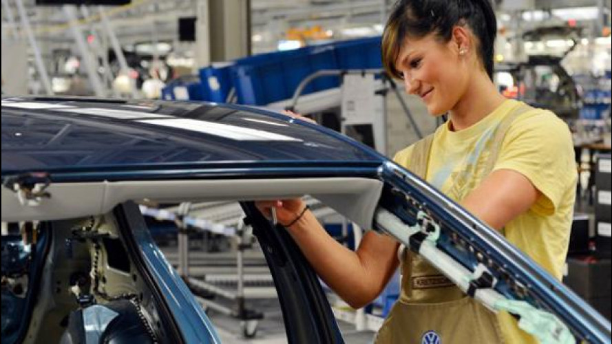 [Copertina] - Volkswagen: in cinque anni creati 100.000 posti di lavoro