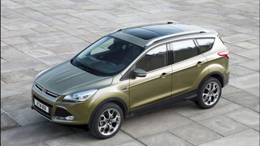 Nuova Ford Kuga, prezzi da 26.000 euro