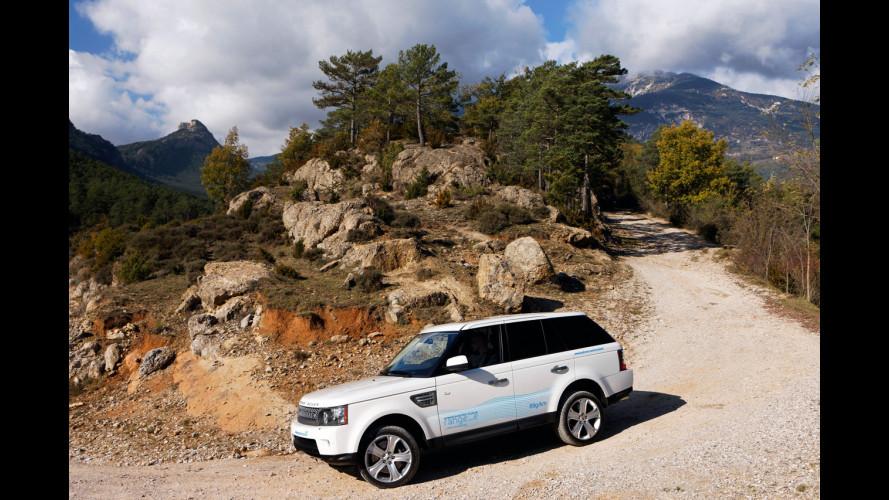 A Ginevra la Range Rover Sport diventa ibrida