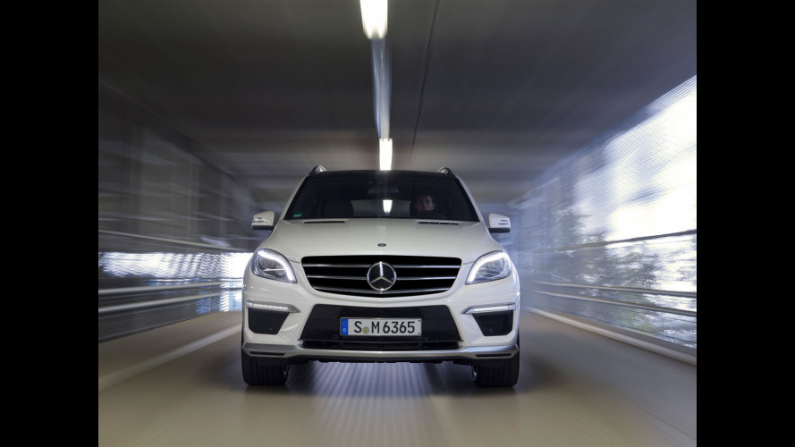 Nuova Mercedes ML 63 AMG