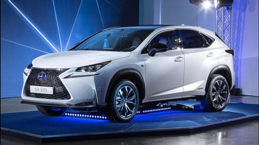 "Lexus NX, il SUV ibrido ""anti tedesche"" [VIDEO]"