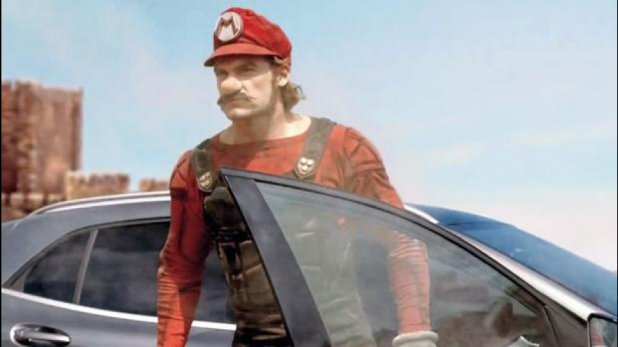 [Copertina] - Mercedes GLA fa diventare vero Super Mario [VIDEO]