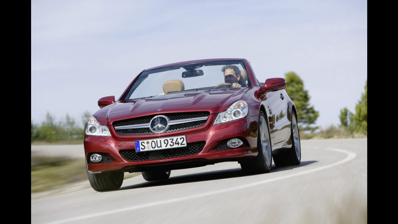 Nuova Mercedes SL-Classe