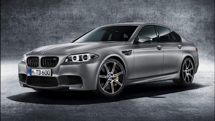 """BMW M5 """"30 Jahre M5"""", speciale per i trent'anni"""