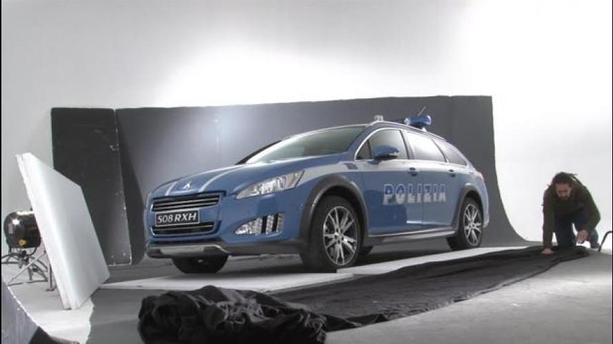 Come si fotografa un'auto della Polizia