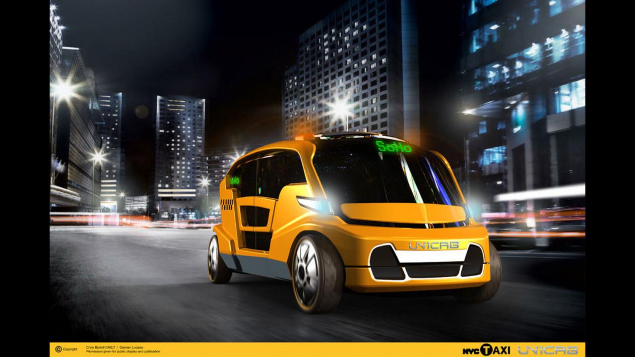 New York City UniCab Taxi