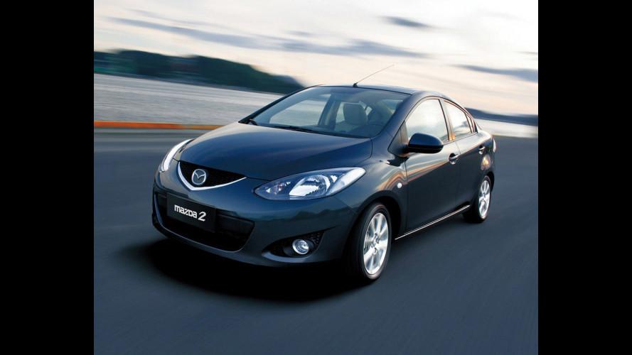 Mazda2 in Cina è anche berlina