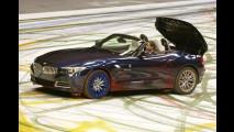 Una BMW Z4 artistica
