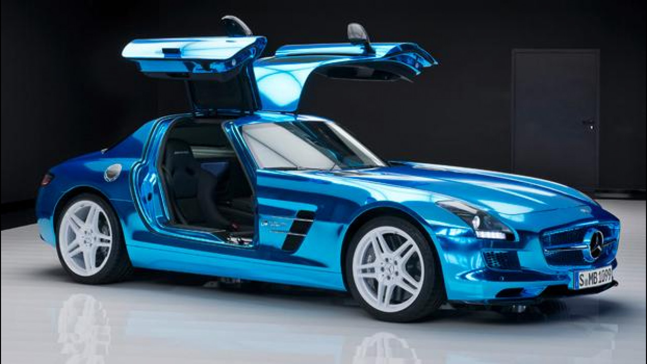 [Copertina] - Mercedes SLS AMG Coupé Electric Drive