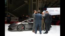 Salone di Parigi, gli ospiti allo stand Lamborghini