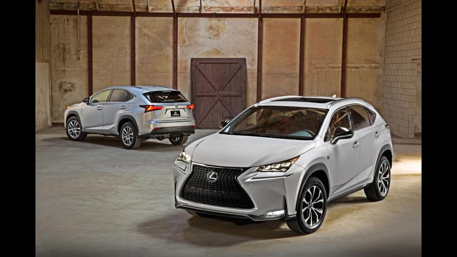 Lexus NX, il nuovo SUV compatto ibrido