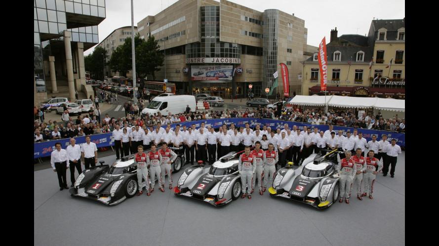 Audi trionfa alla Le Mans 2011