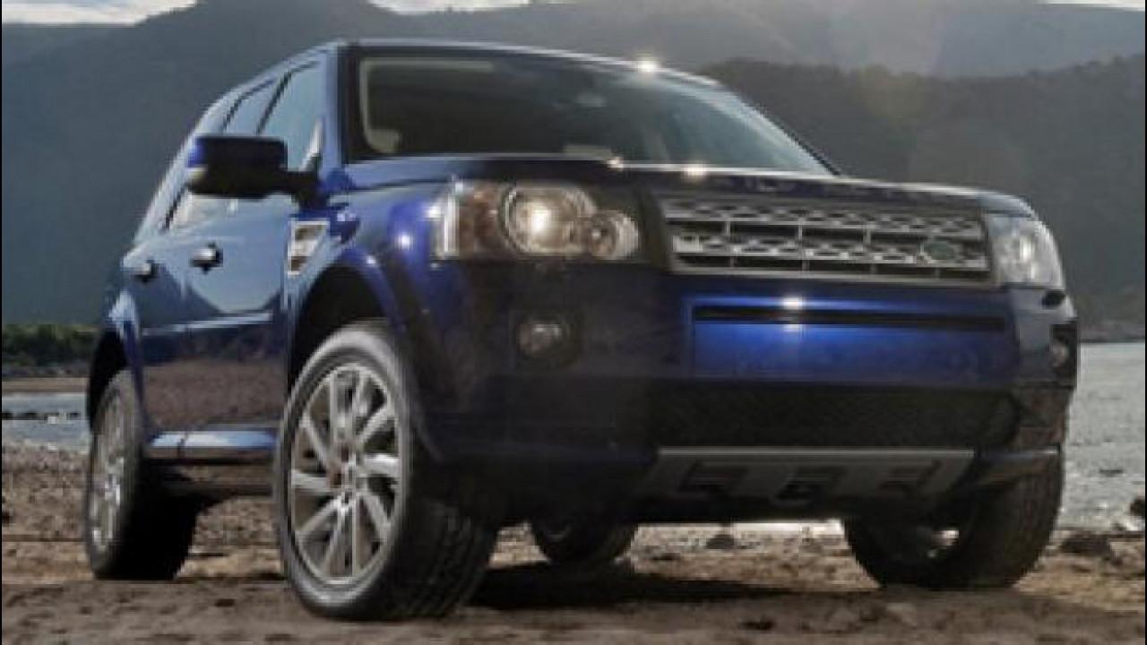 [Copertina] - Land Rover Freelander Metropolis, serie speciale da anticamera