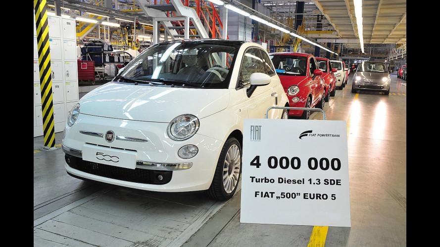 4 milioni di motori Fiat 1.3 16v MultiJet