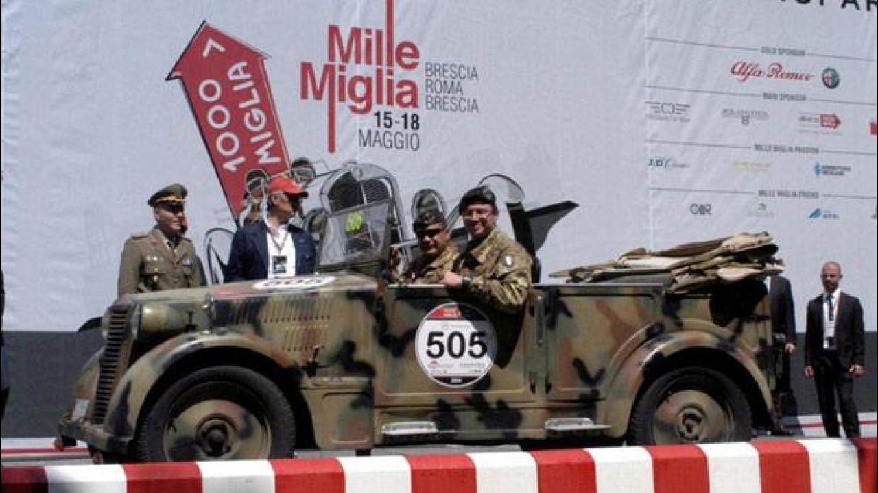 [Copertina] - L'Esercito alla Mille Miglia con una Fiat 508