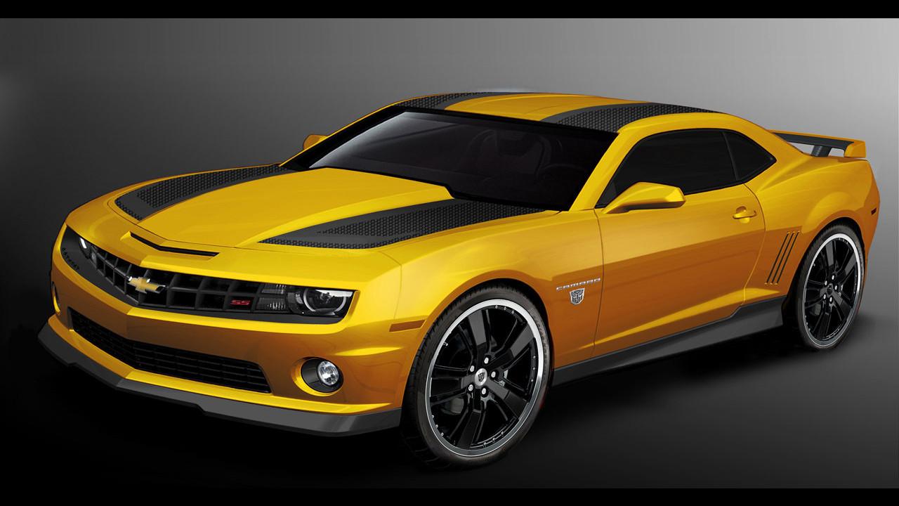 Chevrolet Camaro Transformers 2012 renderings