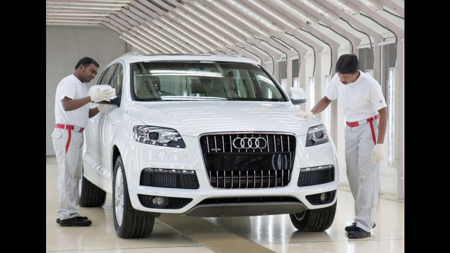 Audi Q7: al via la produzione in India