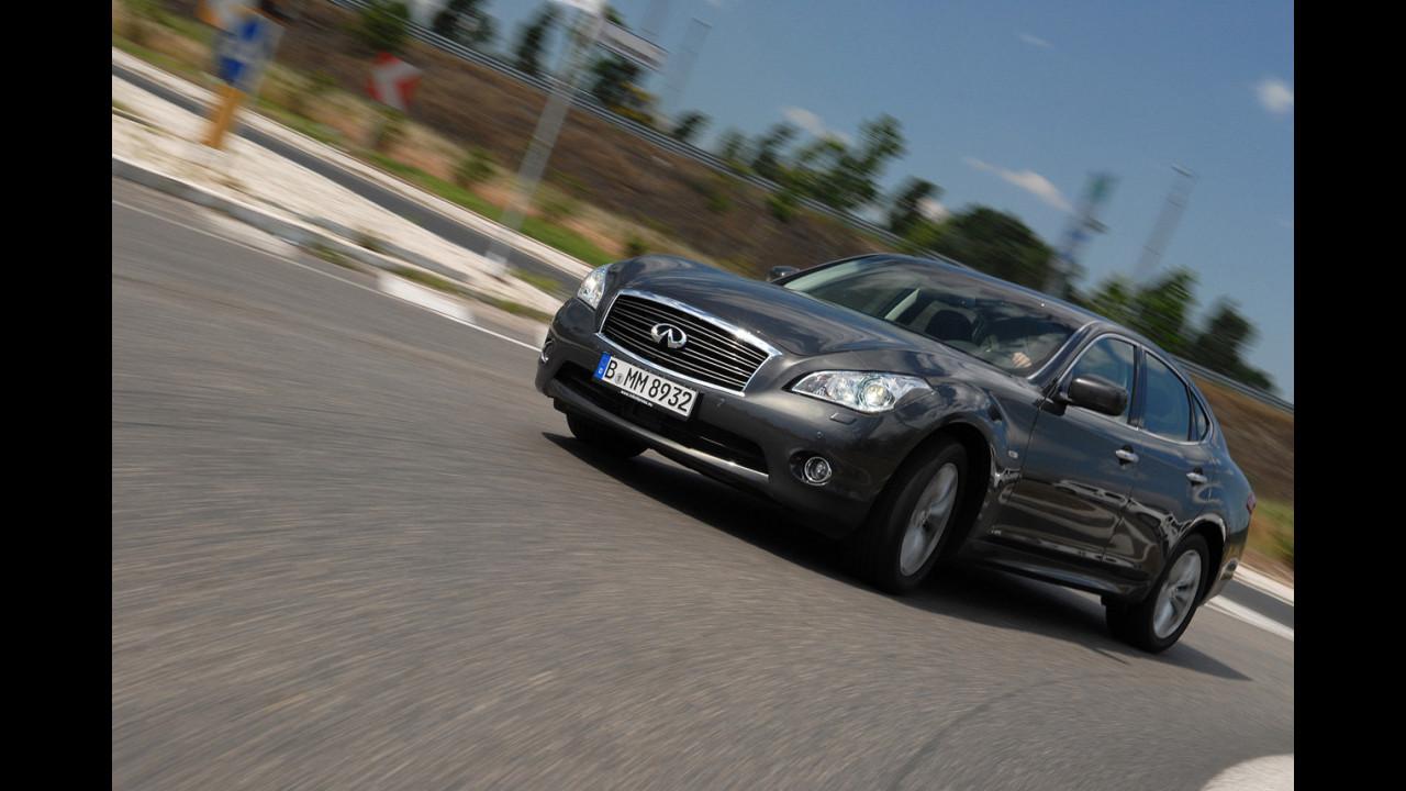 Infiniti M30d GT Premium - TEST