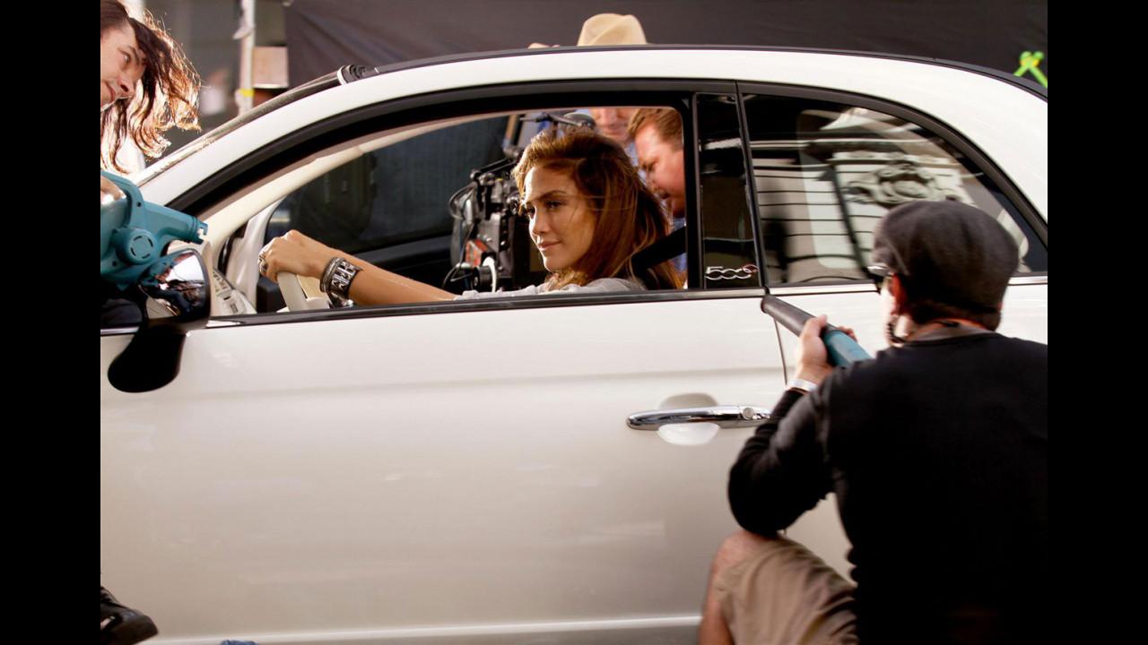 Fiat 500 nel video