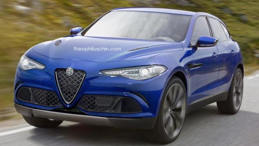 Alfa Romeo SUV rendering is not a bad idea