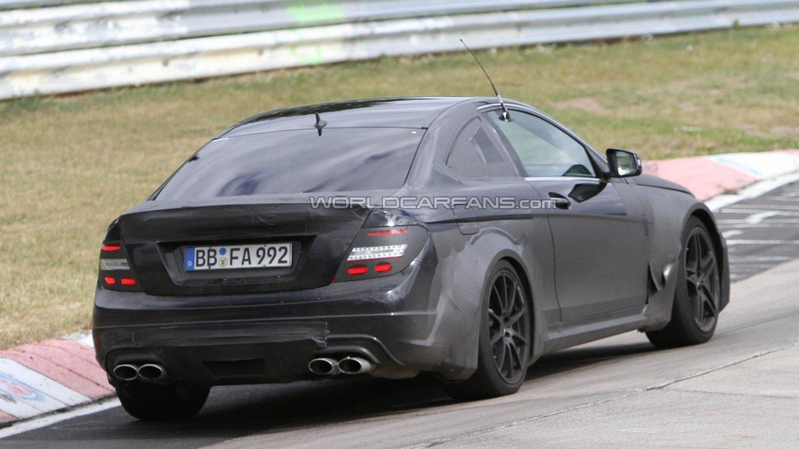 Mercedes C63 AMG Black Series to have more than 500 hp - report