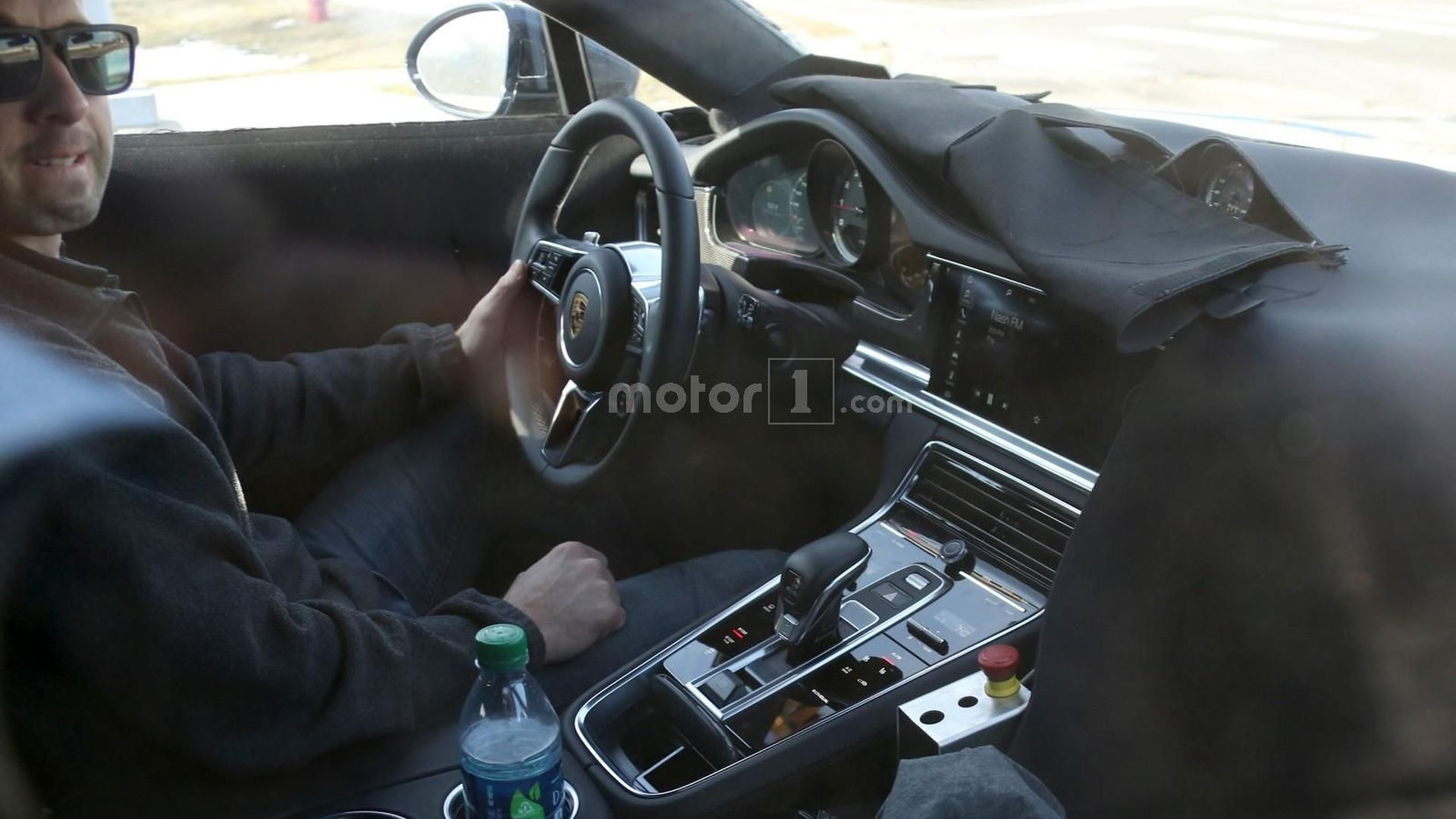 2017 Porsche Panamera Spied With New Capacitive Touch Controls