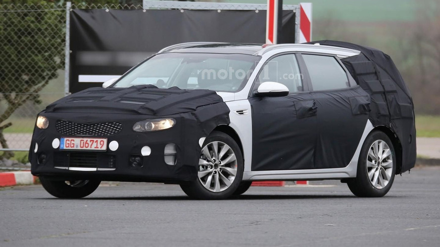 Kia Optima SW prototype benchmarked against the Passat, Insignia, Mazda6, and i40 estates