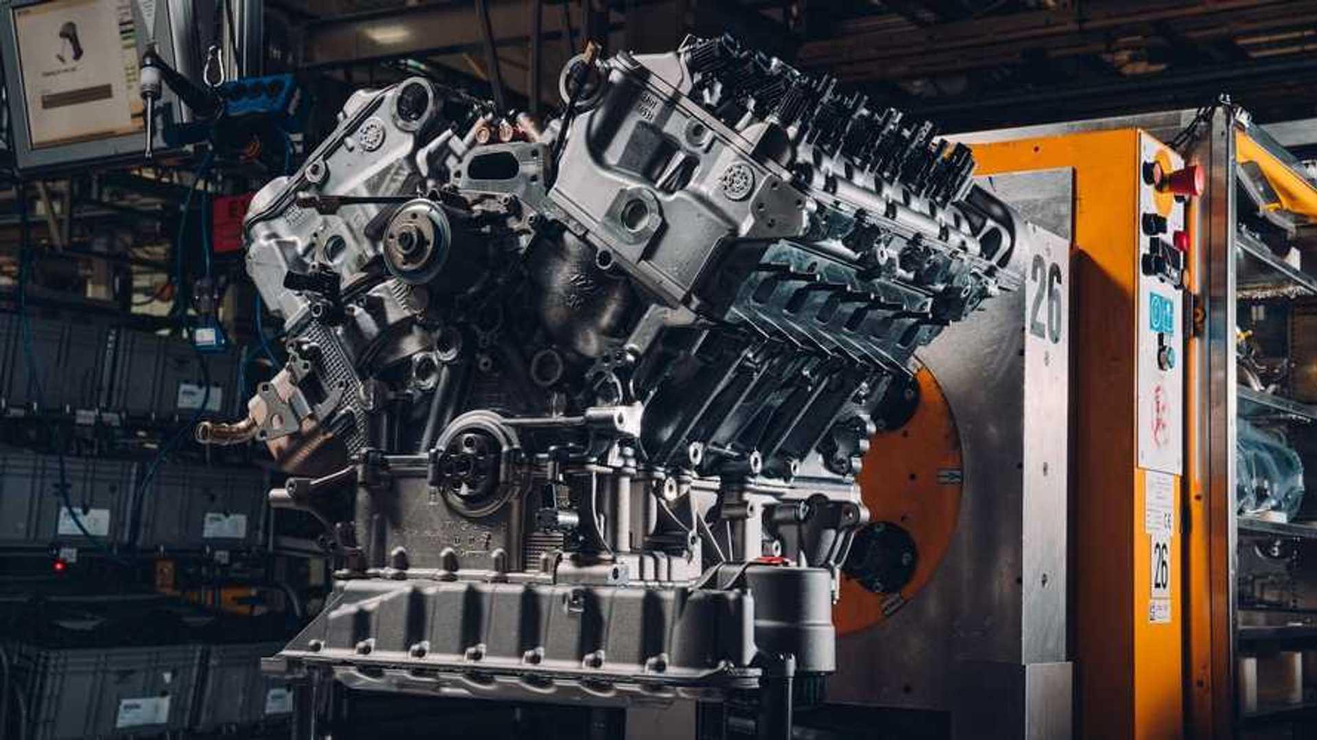 Взгляните на двигатель 650-Horesepower W12 первого Bentley Bacalar