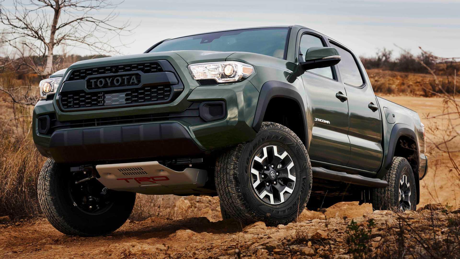 Toyota Tacoma получает заводской подъемный комплект, совместимый с технологиями безопасности