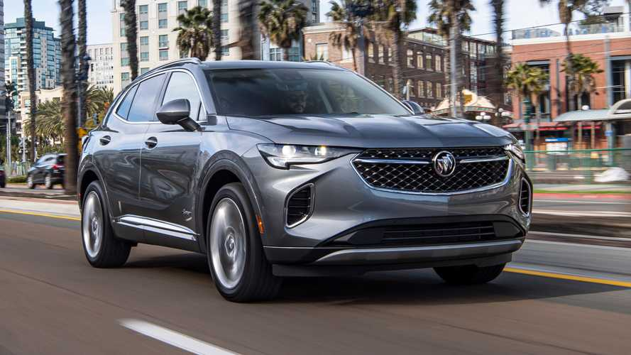2021 Buick Envision (US)