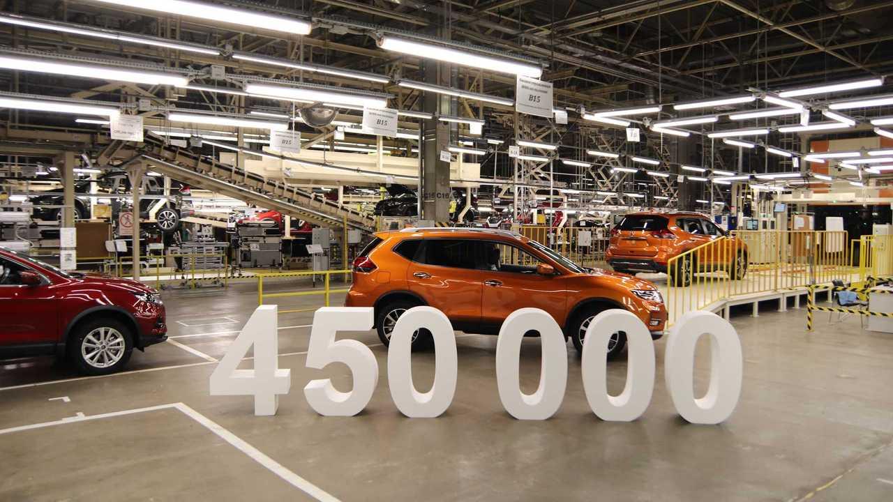 Завод Nissan в Санкт-Петербурге выпустил 450 000 автомобилей