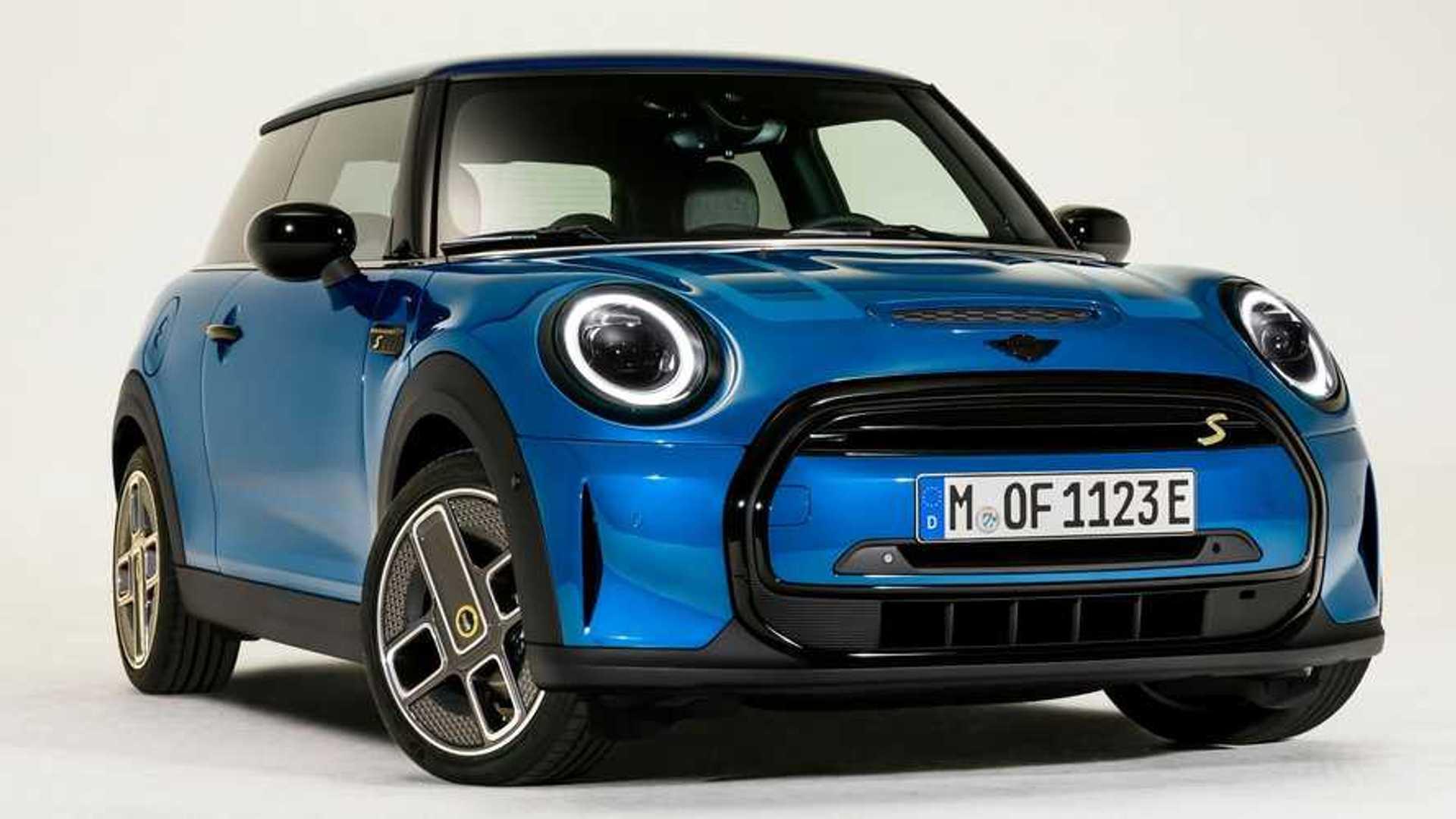 Mini Cooper 2022 получит фары с эффектом гляди и многоцветную крышу