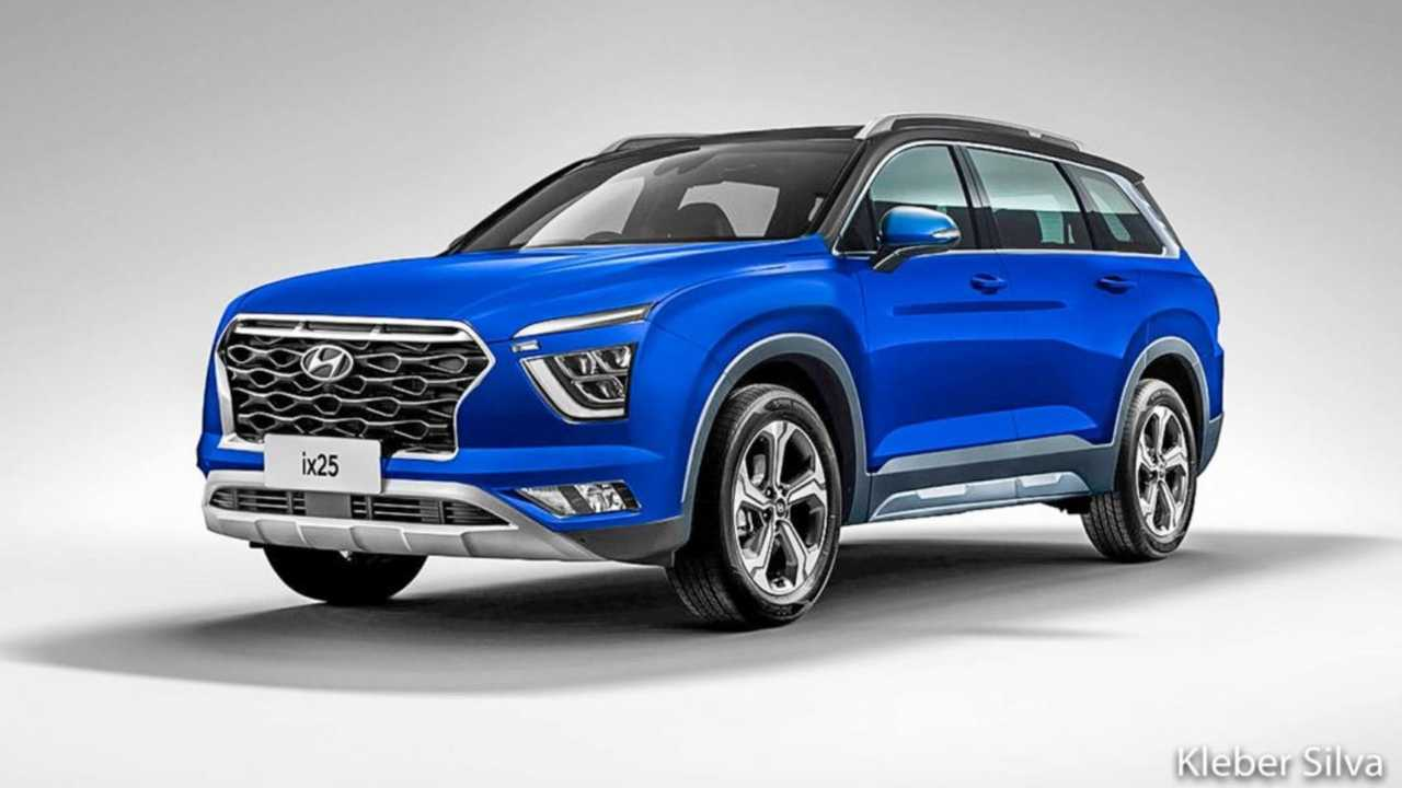 Novo Hyundai Creta 7 lugares - Projeção