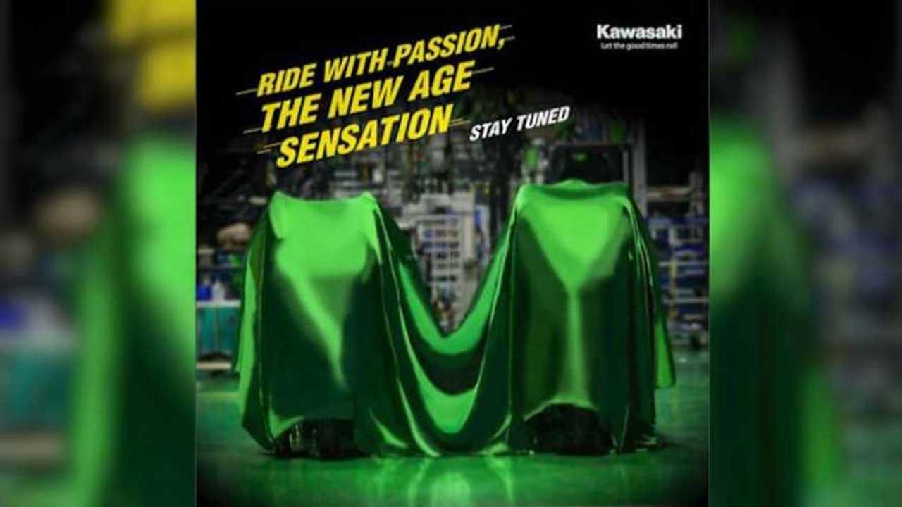 Kawasaki India Teases Two New Bikes For 2021