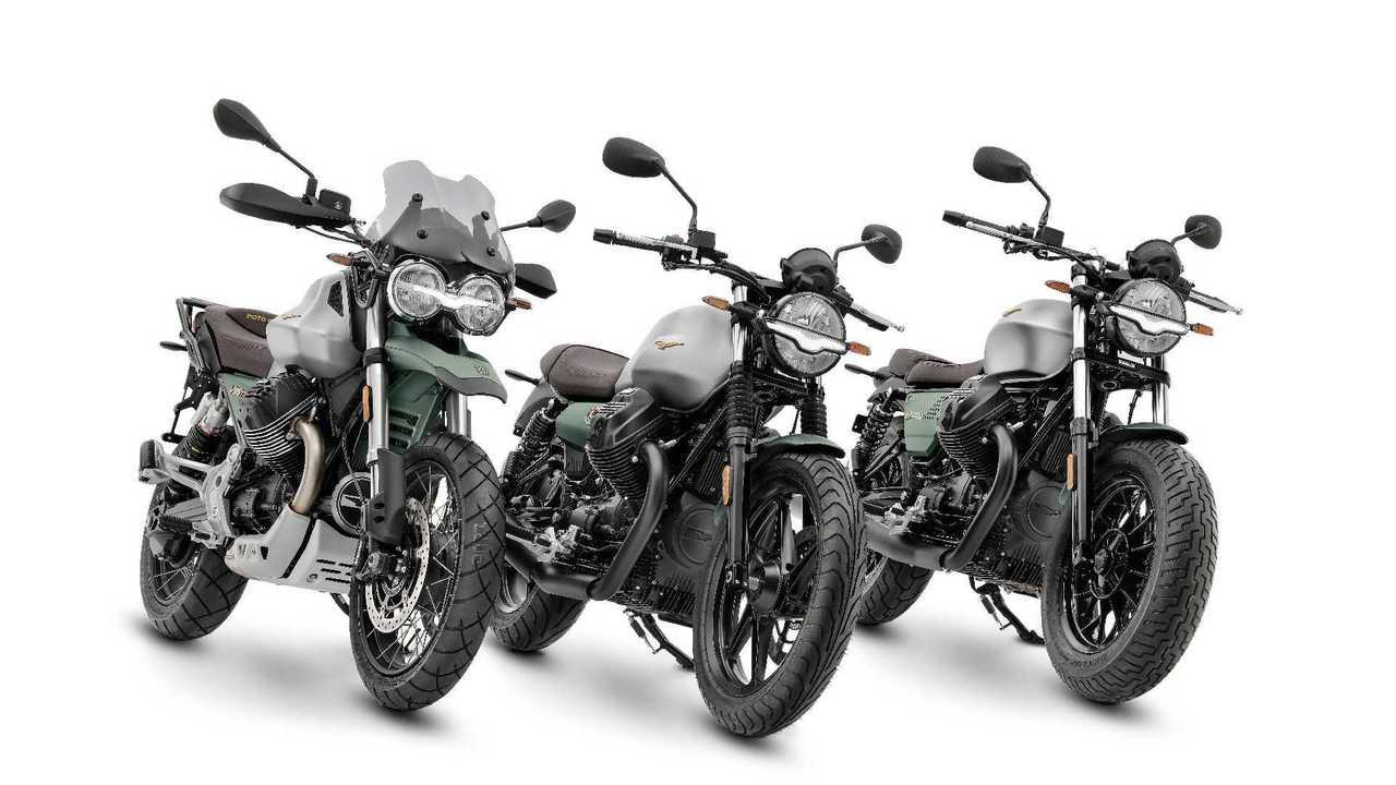 Moto Guzzi V85 TT V7 V9 Livrea Centenario 2021