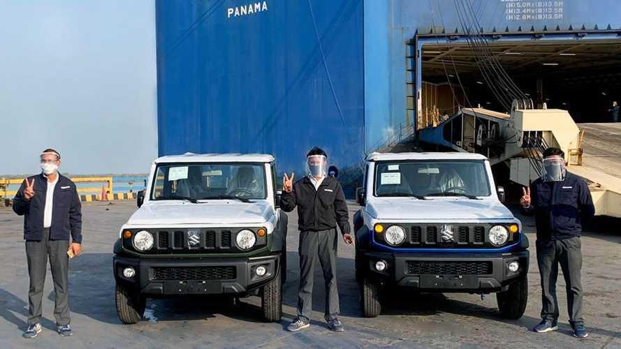 Suzuki Jimny Sierra produzido na Índia começa a chegar à América Latina