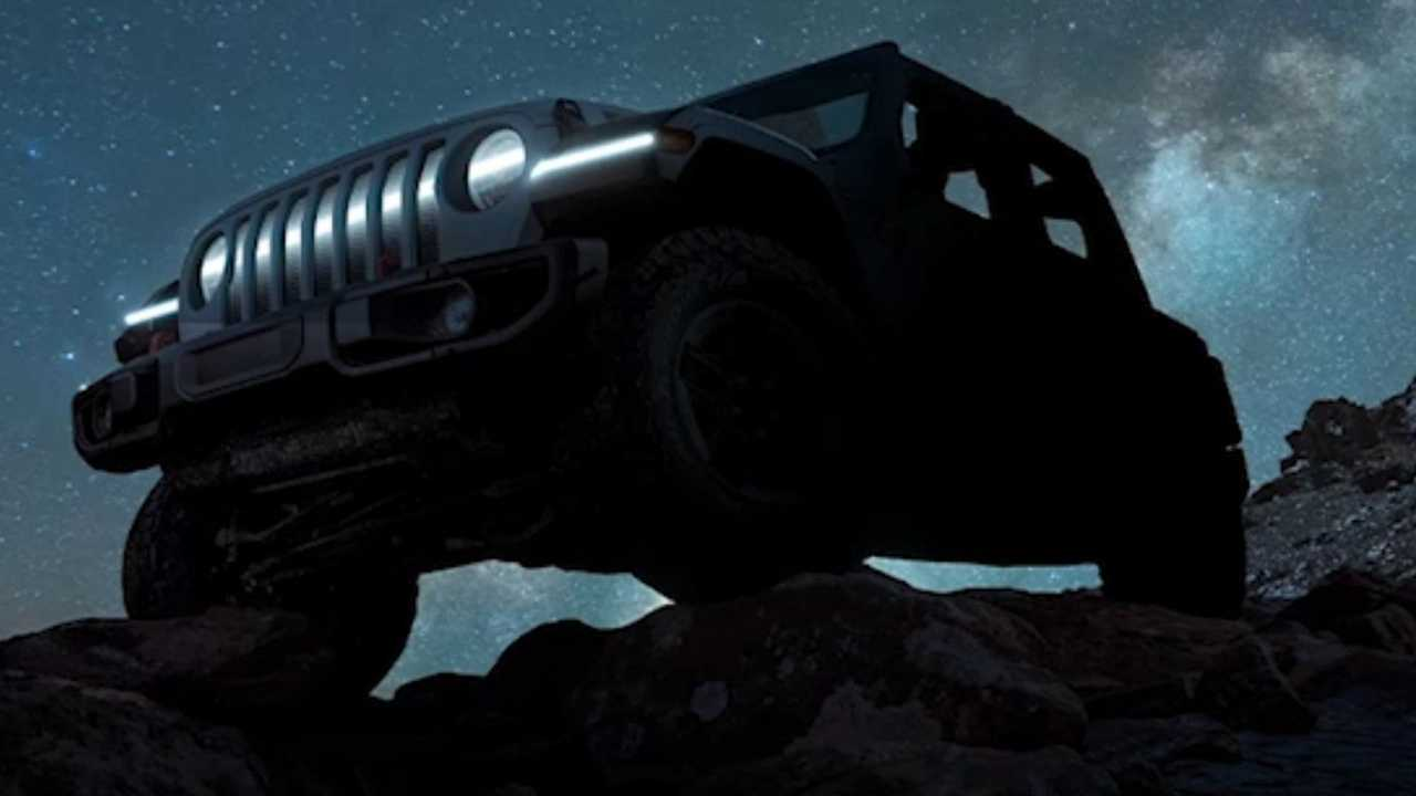 Jeep Wrangler Electric Concept