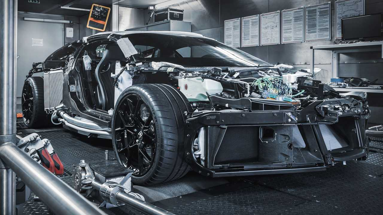 Bugatti Centodieci Prototype Production Begins