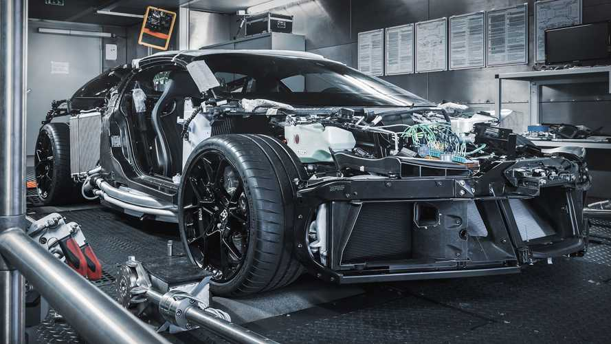 Bugatti Centodieci Bares All As Prototype Production Begins