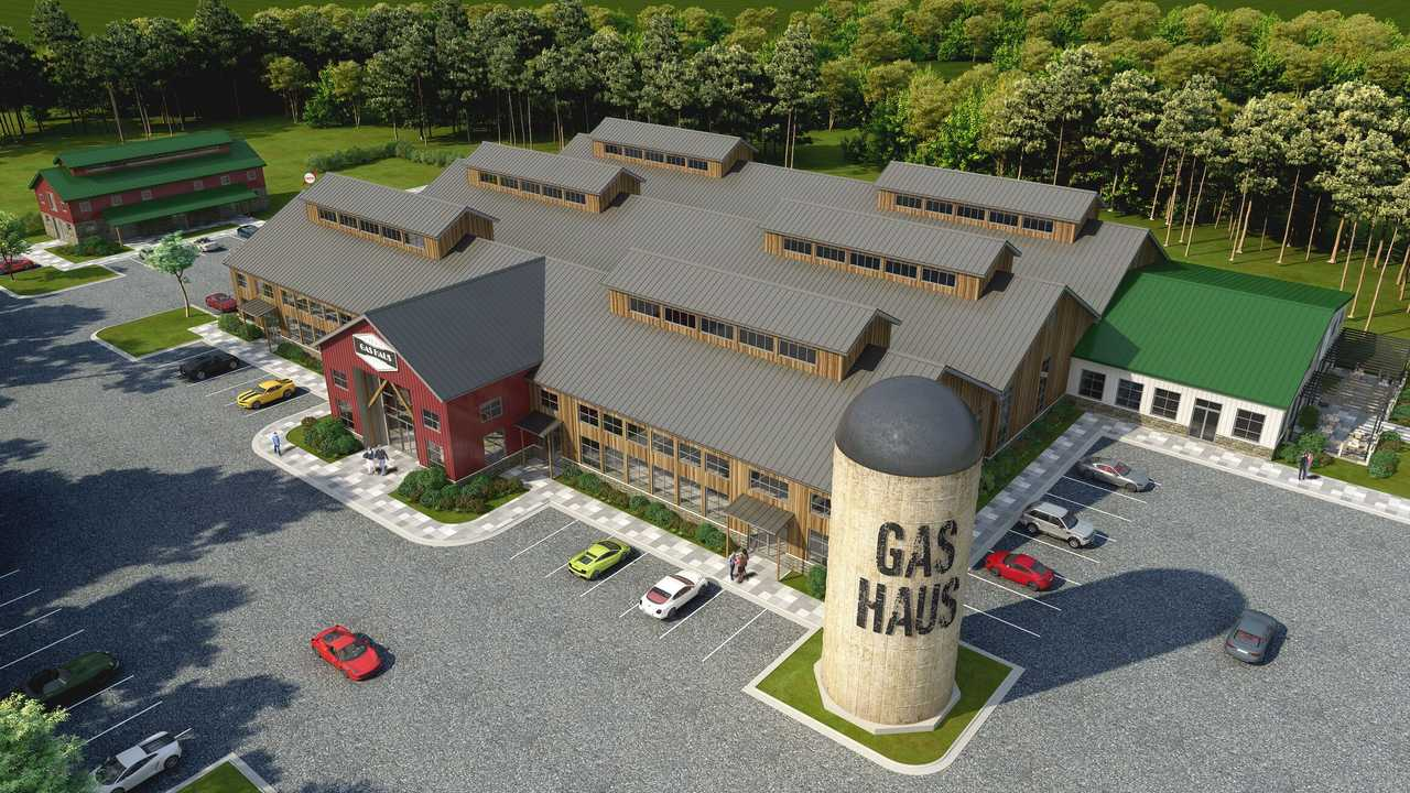 The Gas Haus Rendering