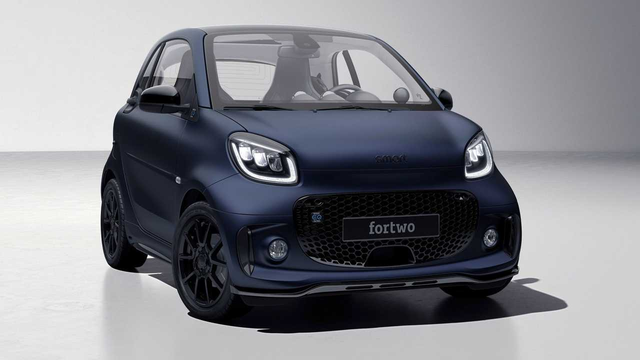 smart fortwo bluedawn 3/4 anteriore