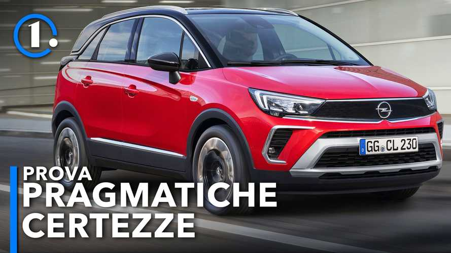Opel Crossland, la prova del restyling 2021