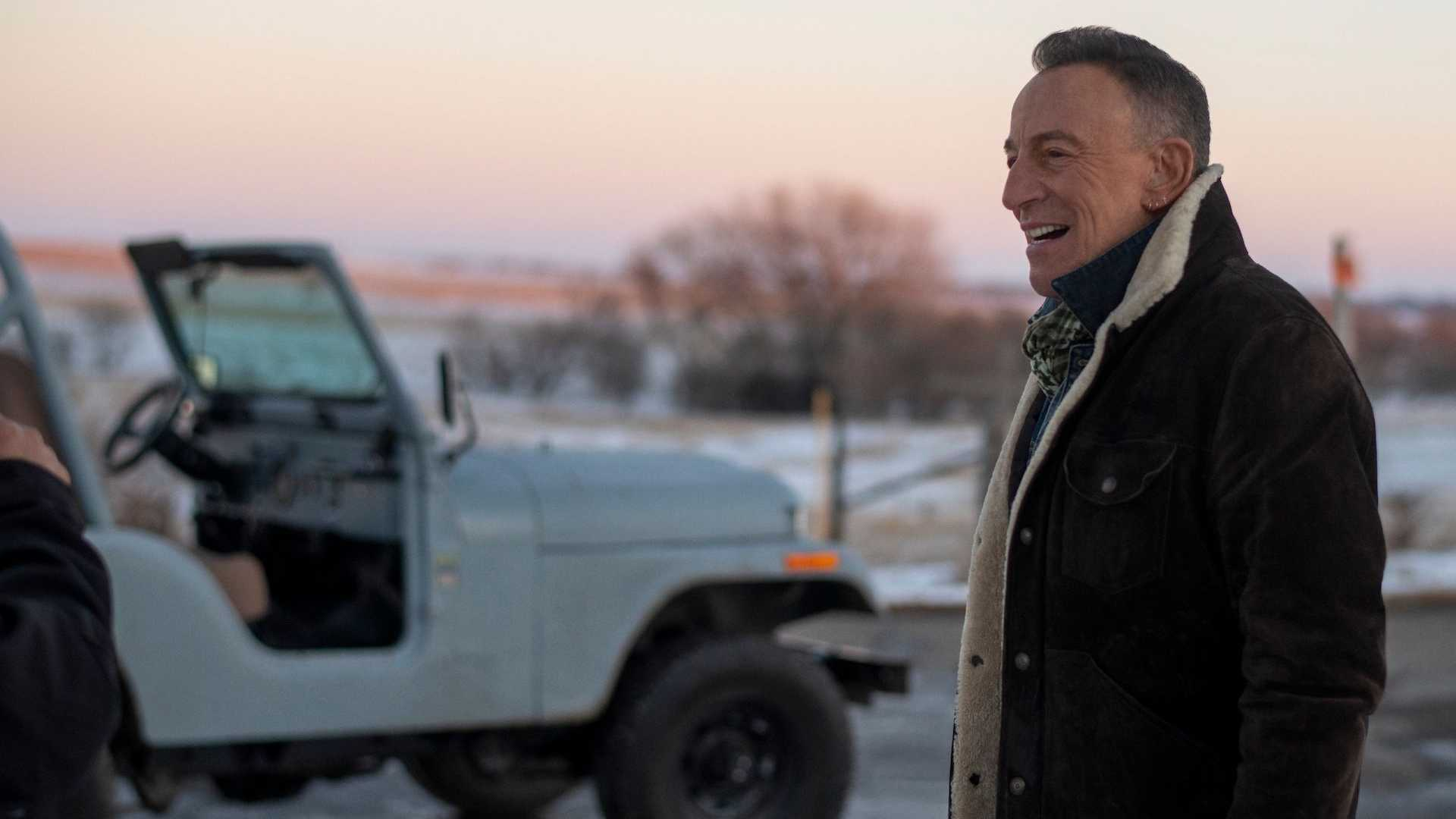 Image result for bruce springsteen jeep ad