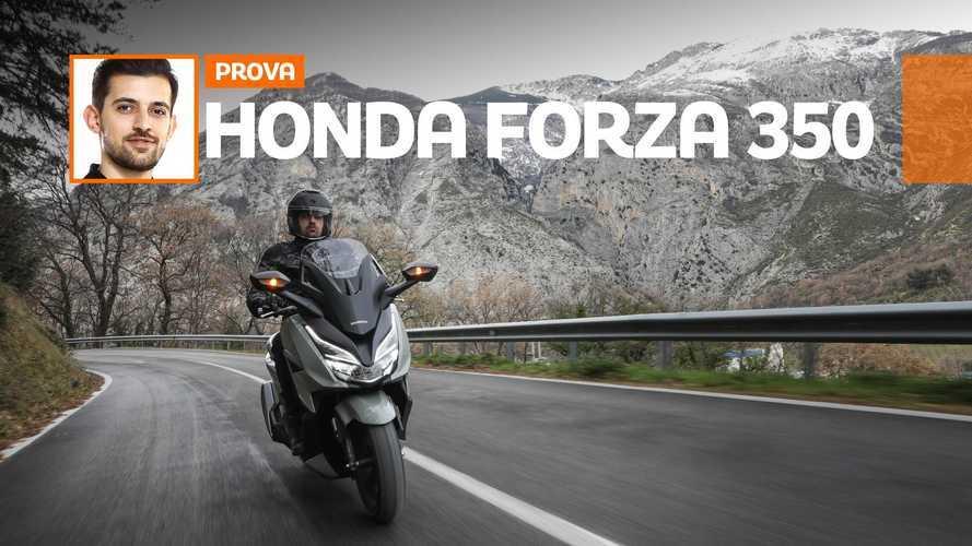 Honda Forza 350 2021 - TEST