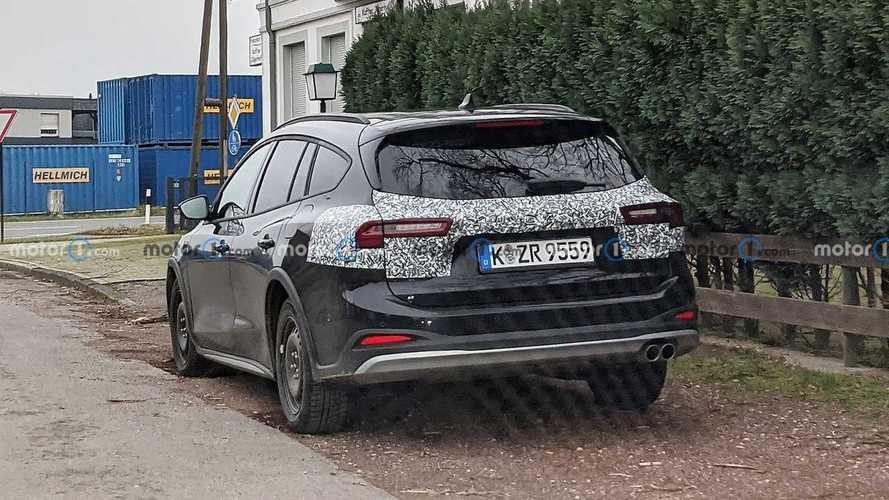 Ford Focus Active 2022, fotos espía