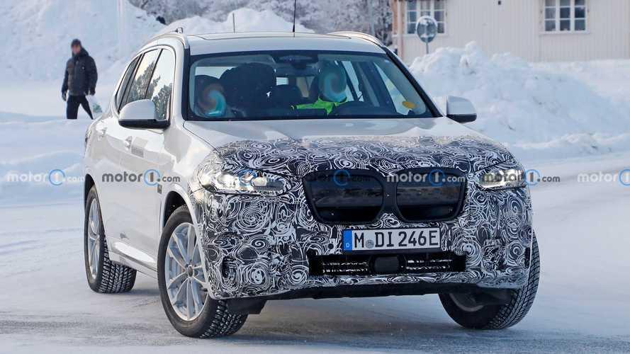 BMW iX3, la casa bavarese prepara già il restyling
